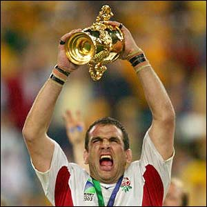 Legends ambassador Martin Johnson