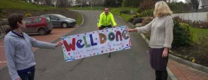 Williams completes his charity ride
