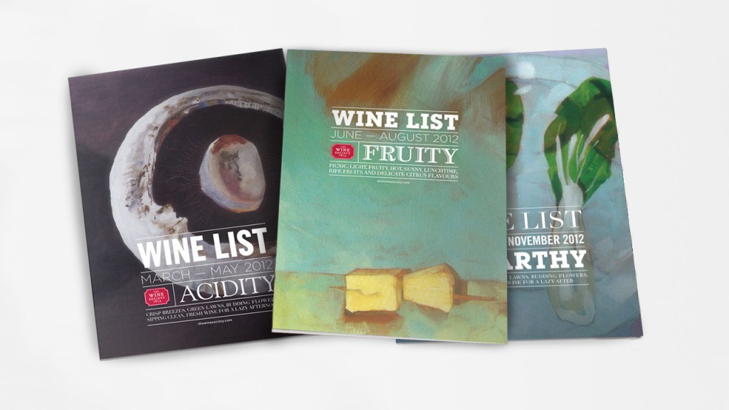 wine society books