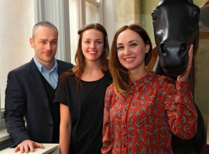 NoChintz directors Dominic Beardwell, Lucy Goddard and Natalie Gray
