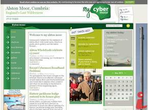 The Cybermoor hyperlocal site