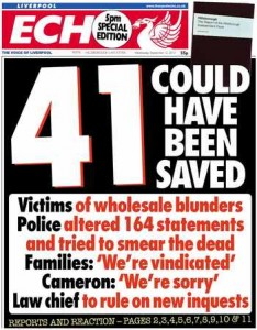 How the Echo covered the Hillsborough report