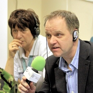 Mark Page (right)