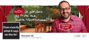 Ronseal's Facebook page