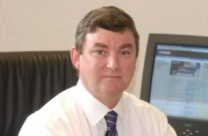 Newsquest chief executive Paul Davidson