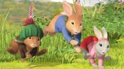 A screengrab from the new Peter Rabbit series
