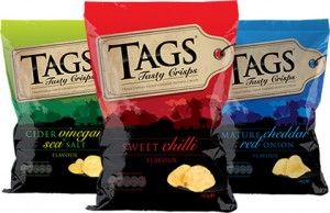 New client Tags Crisps