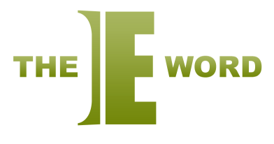 The E Word logo