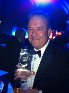 Calendar's Duncan Wood was named Journalist of the Year