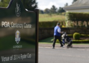 Gleneagles, the venue for next year's Ryder Cup