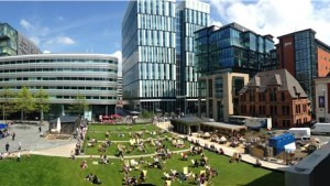 Spinningfields in Manchester