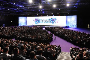 Saville provided AV support for Tesco's company conference