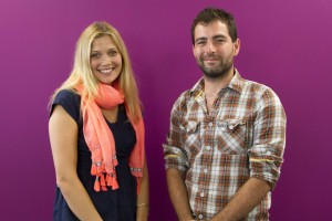 Amy Ewbank and James Foster