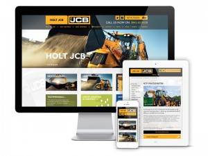 The new Holt JCB site