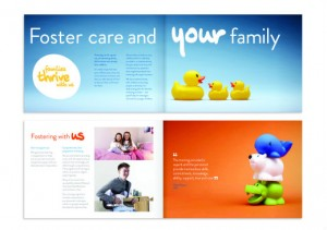 Another example of the rebrand creative