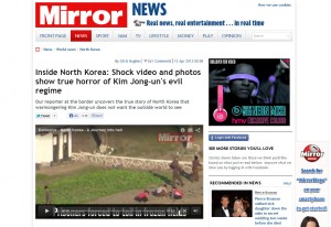 The Mirror's recent North Korea story was popular