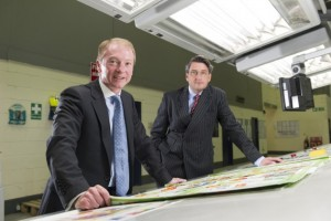York Mailing CEO Chris Ingram (l) and COO Mike Newbould