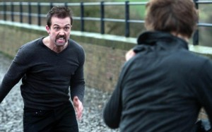 A scene from the offending Hollyoaks episode
