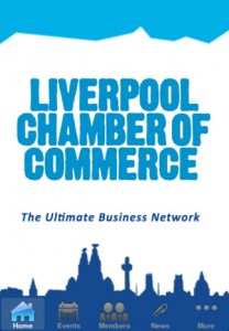Crosby's app for the Liverpool Chamber of Commerce