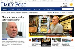 The new Liverpool Daily Post site