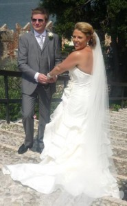 Chelsea Norris marrying Matt Spokes in 2011