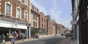 An artist's impression of the new site
