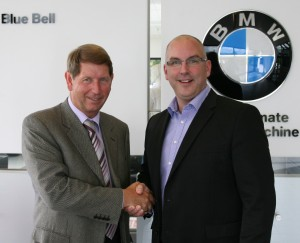 Barry Holt (left) with TMC's Tim McCloud