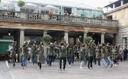 Covent Garden Revelers Go Mad For 'Mancdance'
