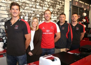 Representatives from Ulster and Kukri announce the deal