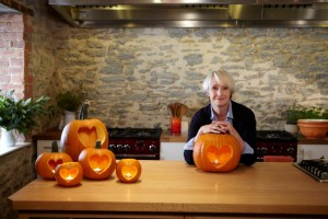 Lesley Waters and Hope pumpkins 2 low res