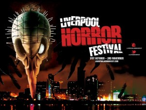 A poster for the Liverpool Horror Festival