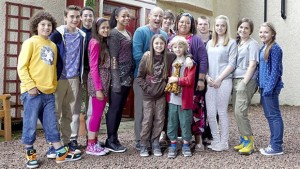 The cast from the first series of The Dumping Ground