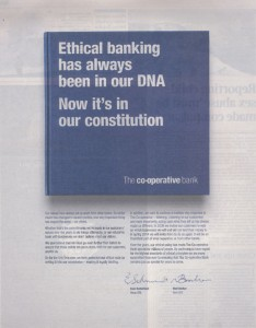 The ad in today's papers