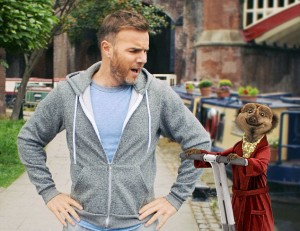 Gary Barlow in tonight's ad