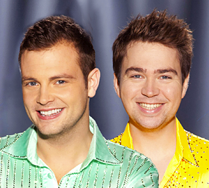 Sam Nixon and Mark Rhodes won the best presenter category