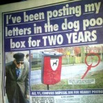 Unpleasant postal deliveries in north Yorkshire?