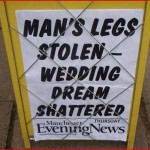 A lot of things can go wrong on a person's big day, the MEN reports.