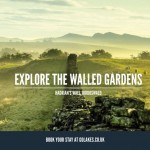 Explore the walled gardens