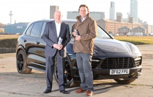 Cataclean's Graham Fraser (l)  with Ben Pinnington from Polaris