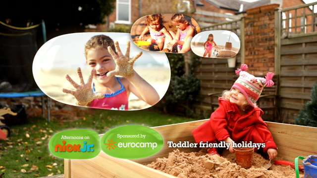 One of BJL's idents for Eurocamp