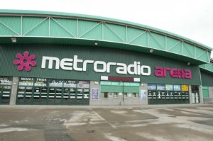 The Metro Radio Arena Newcastle