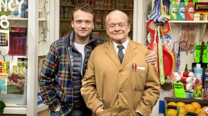 David Jason (right) reprises his role as Glanville