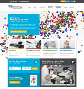 The new Media Sciences site