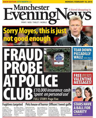 Manchester Evening News redesigns print edition - Prolific ...