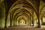 National Trust treasure Fountains Abbey. Picture: Mr Ush on Flickr