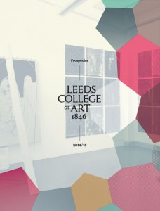 The college's new prospectus