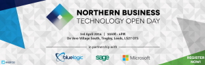 Northern Business Technology Open Day - Blue Logic