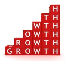 business growth red 2