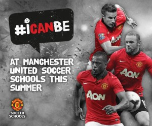 Some of the #icanbe campaign creative