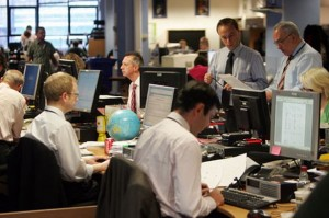 The NCJ Media newsroom in Newcastle